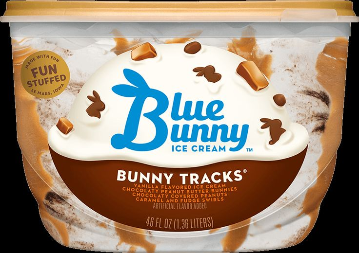 Blue Bunny Ice Cream Pot