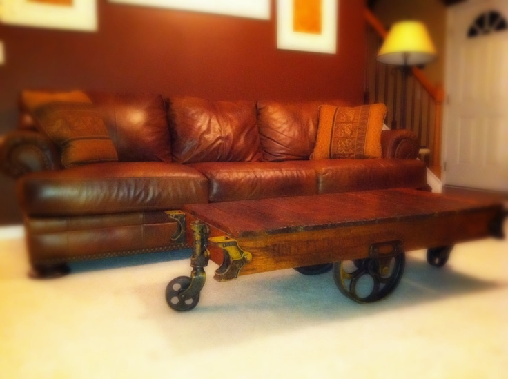 35 best railroad cart coffee table images on pinterest | cart