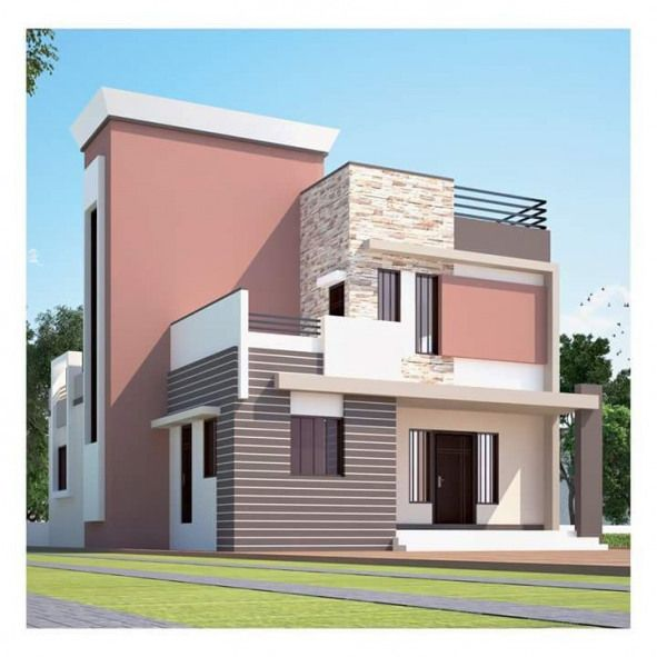 Awesome Two Stories House Exterior And Front Elevation Idea Front 35 4 5 Side 55 9 Casas Pintadas Colores Para Casas Exteriores Exteriores De Casas Modernas