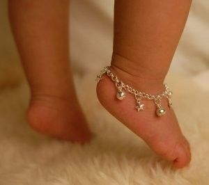 ankle bells for boho babies, $33 from etsy.com #bohemian baby