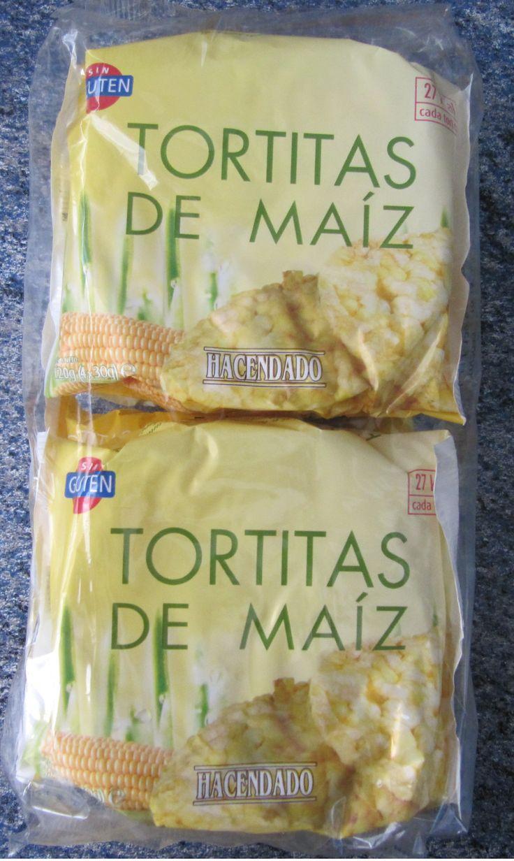 Tortitas de maíz Hacendado (Mercadona) - 1 unidad 0,5 puntos.