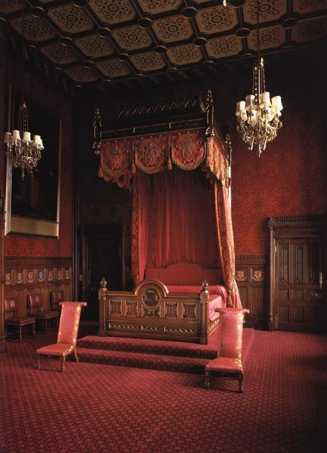 The State Bed In The Speakers House Palace Of Westminster