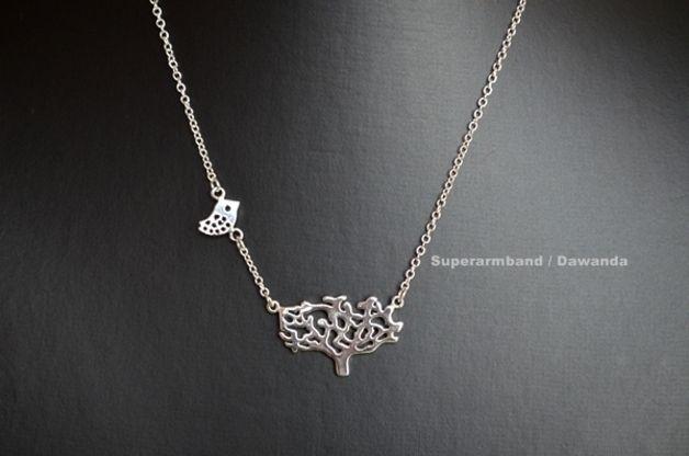 Collier Arbre de Vie, chaîne en argent sterling de Superbracelet sur DaWanda.com