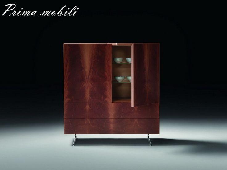 Итальянский шкаф для посуды Piuma Flexform купить в Москве в Prima mobili