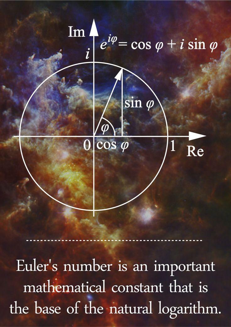 Euler's Number - Math Poster