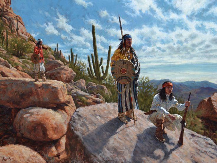 Fall Horse Wallpaper Sentinels Of The Sonoran Desert Apache Native American
