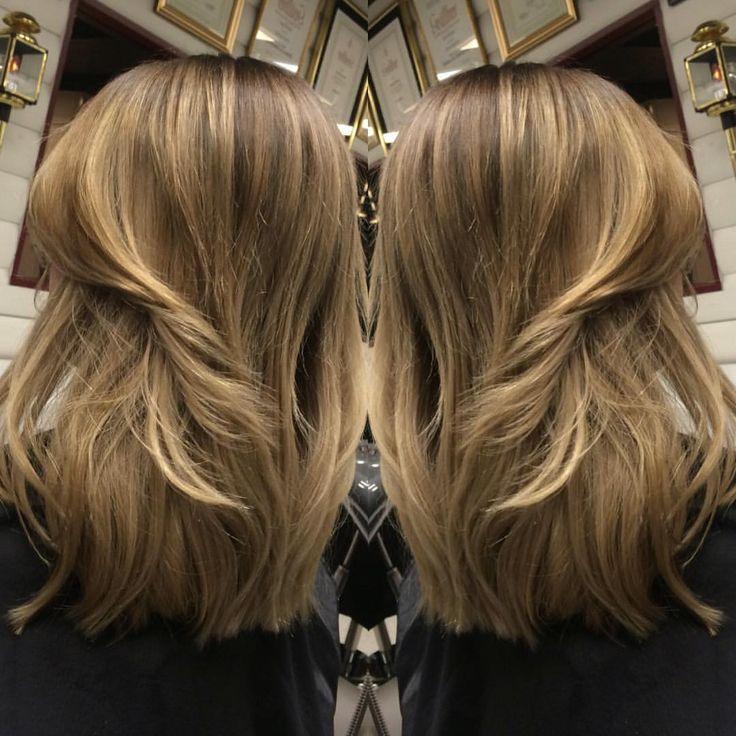Från ljus blond  till en soft ombre  frisör-natalie #wella#hair#illumina#softombre#frisör#hårfärg
