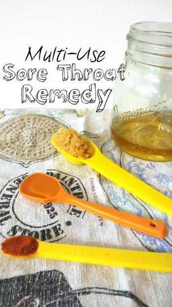 Multi-Use Sore Throat Remedy for infections or viruses (NOT an antibiotic replacement)