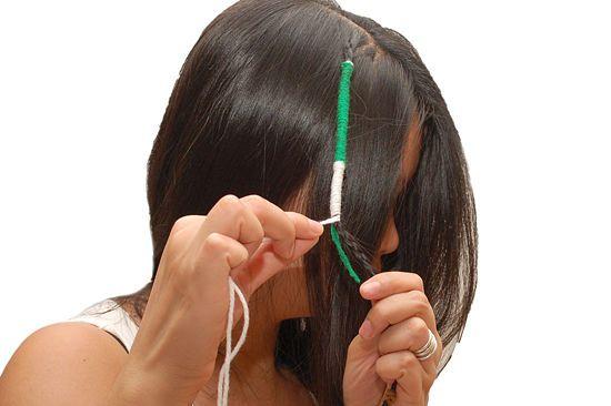 how to make detachable hair wraps