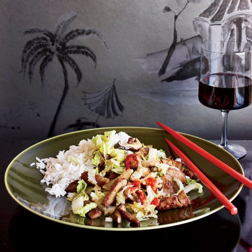 Shanghai Stir-Fried Pork with Cabbage  | Food & Wine