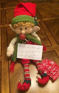 Keitha's Chaos: Cutesy the Elf 2017 Week 2