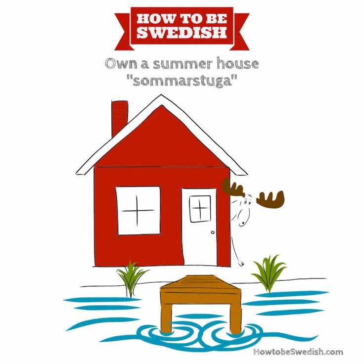 Buy a Swedish summer house - How to be Swedish