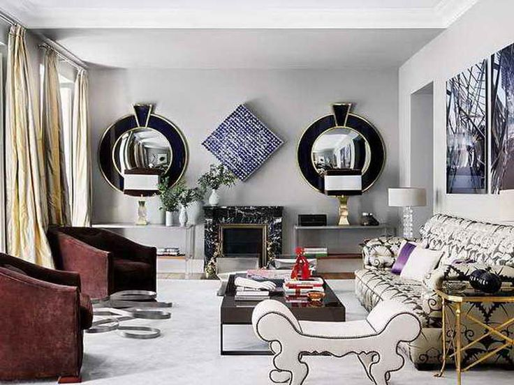 Decorative Mirrors For Living Room   Mirrors For Living Room Give Shiny  Reflection : Charming Living Part 83