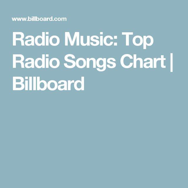 Radio Music: Top Radio Songs Chart | Billboard
