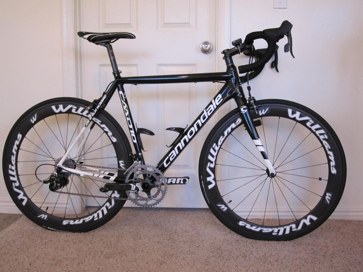 Cannondale Caad10 Road bike review with Williams wheels - YouTube