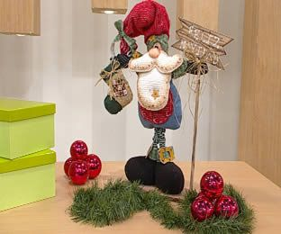 My home sweet home: Papá Noel diy