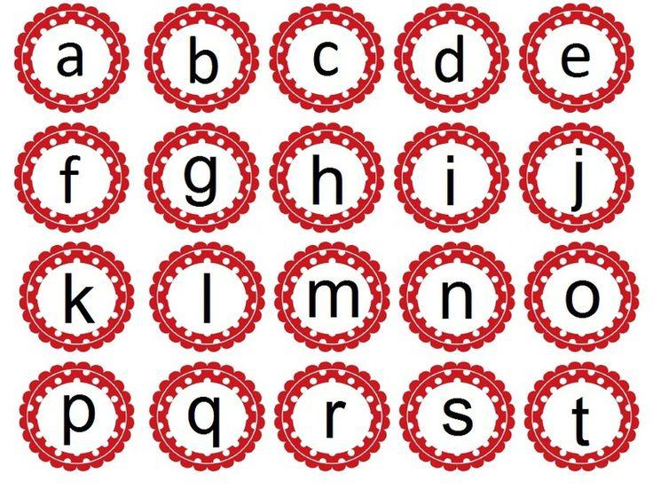 Ateliers Montessori: les lettres de l'alphabet chouette site plein de bonnes idées