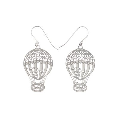 Hot Air Balloon Earrings from Polli
