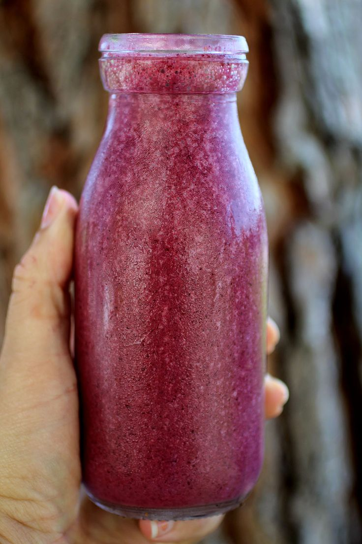 Blueberry Kefir  ~Cultured Food Life