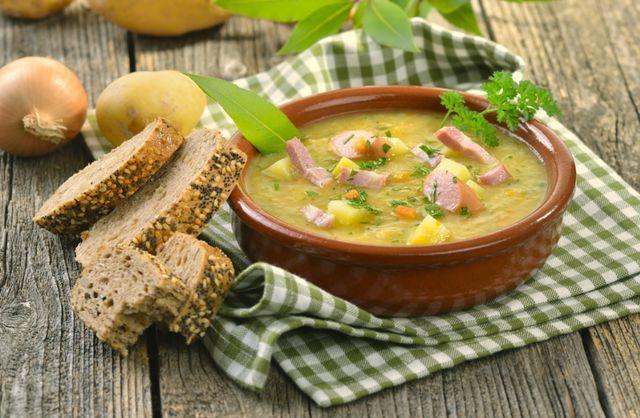 Вкусный  из бобовых быстро восстанавливает витаминный запас организма зимой
