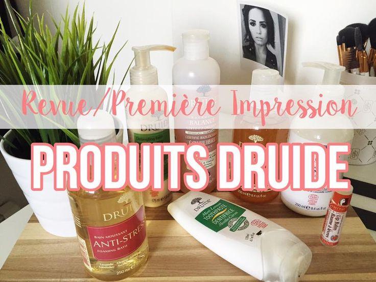 REVUE/PREMIÈRE IMPRESSION | PRODUITS DRUIDE