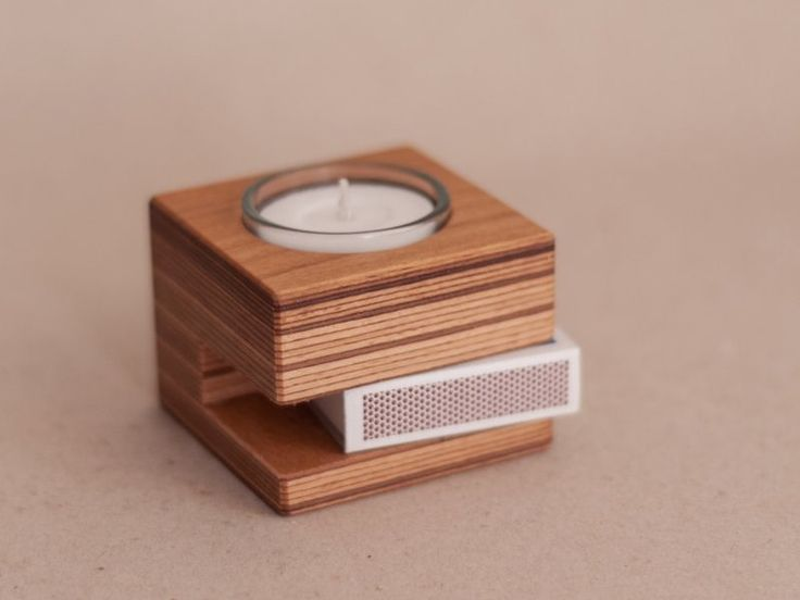 NOTLICHT*Kerzenständer*Teelichthalter von HolzWolle-SpielKunst auf DaWanda.com