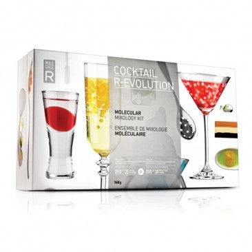 Molecular gastronomy by MOLECULE-R - Cocktail R-Evolution Creates neat chemical reactions in your cocktails!