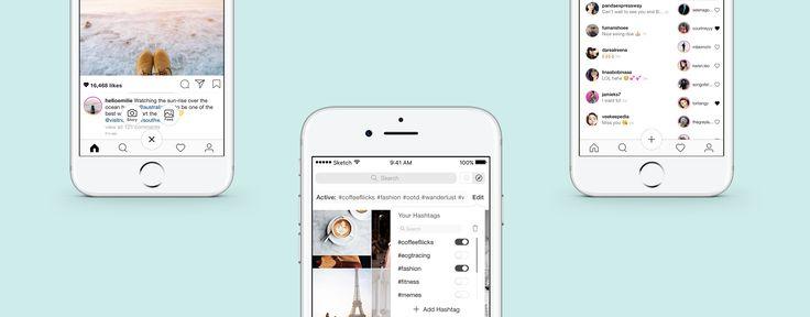 Instagram iOS Redesign — KIM THUY TU