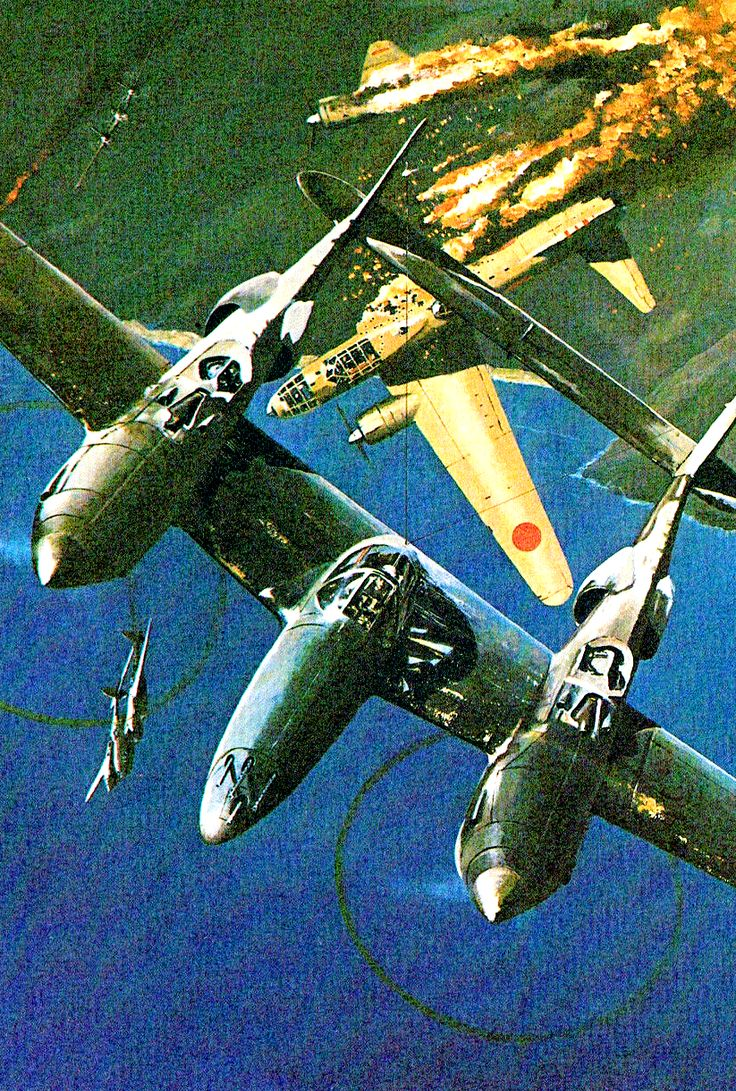 P 38 Wwii Bomber