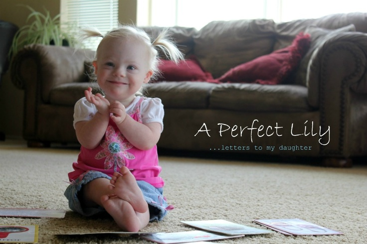 Love the slide show in the post on this blog - lots of pictures of children with Down syndrome.