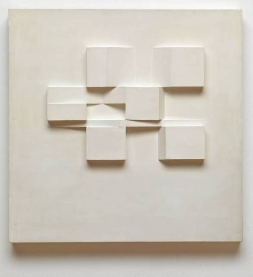 Expanding Form, 1954. Mary Martin (1907-1969)  was a British sculptor best known for her work with her husband Kenneth Martin.