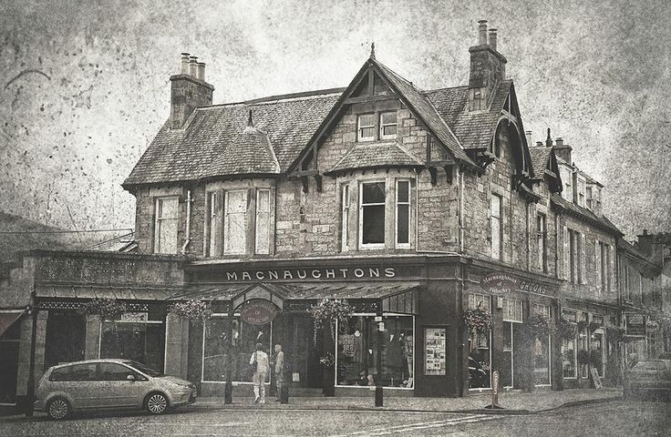 Macnaughtons Of Pitlochry. Perthshire. Vintage by Jenny Rainbow