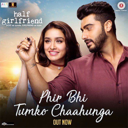 Phir Bhi Tumko Chaahunga Official Video Song - Half Girlfriend | Arjun Kapoor, Shraddha Kapoor | Voice of Arijit Singh & Shashaa Tirupati | Movie Releasing on 19th May 2017. #PhirBhiTumkoChaahunga #ArjunKapoor #ShraddhaKapoor #ArijitSingh #ShashaaTirupati #HalfGirlfriend #MohitSuri #BalajiMotionPictures #ZeeMusicCompany