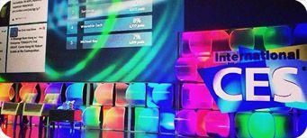Les start-up présentes au #CES à Las Vegas en janvier 2014.