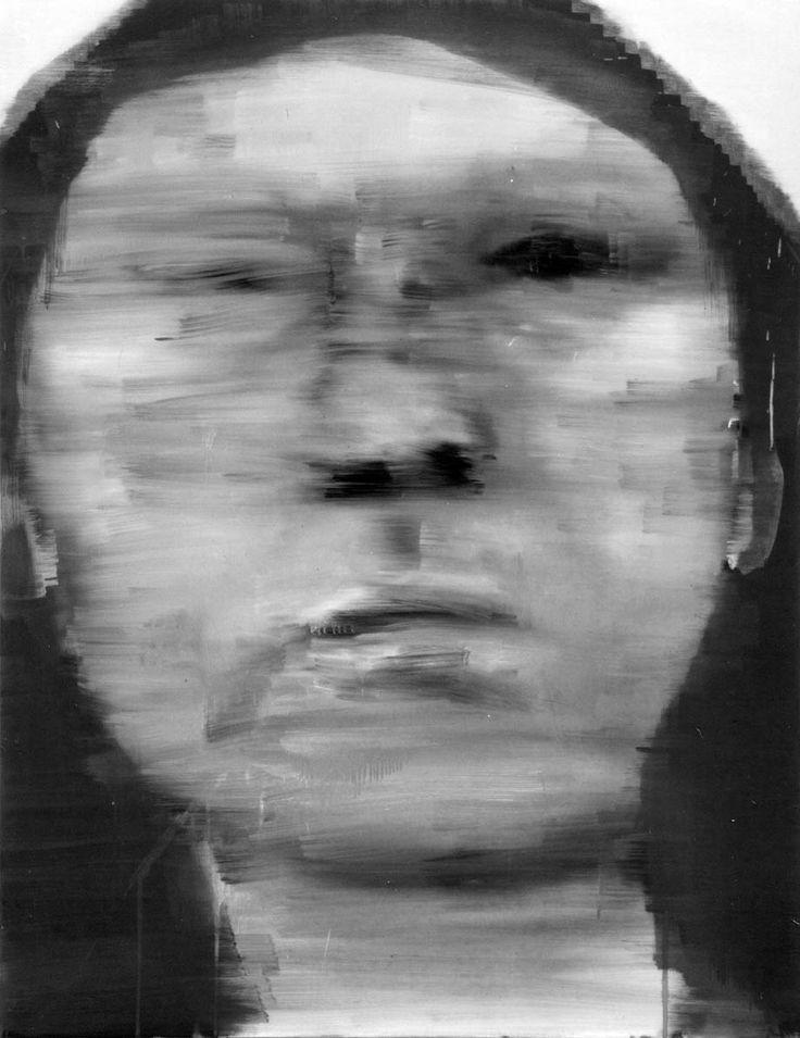 Massimiliano Fabbri/Dire Fare Baciare/2003/olio su tela, cm 130x100
