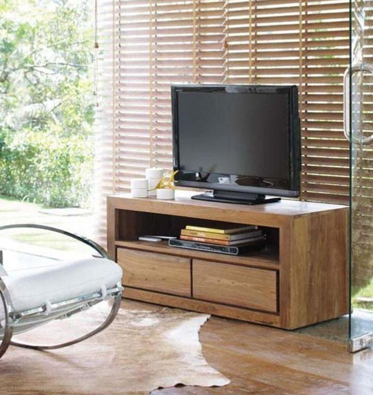 Solid Wood Voted Plasma Tv unit - Saraf Furniture in 2020 ... Plasma Unit Design