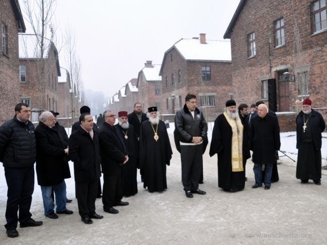 On December 9 in the Auschwitz Memorial Site, celebrations were held for the 70th anniversary of the death of Archimandrite Grigol Peradze, an Orthodox holy martyr, who was murdered in the German Nazi concentration camp on Dec. 6, 1942.