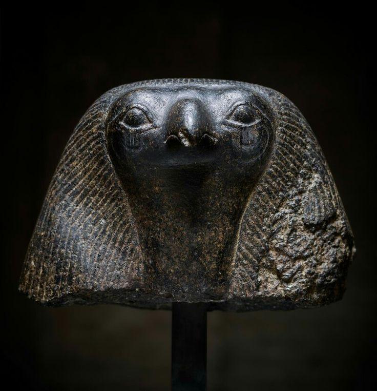 Granodiorite head of Horus. Ptolemaic Period. 332 - 30 B.C. | Master Art Gallery