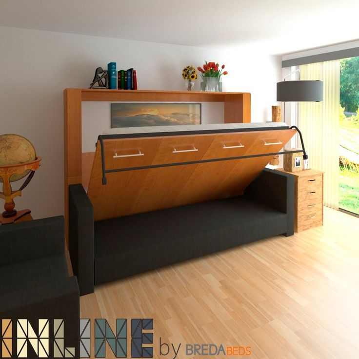 Murphy Bed Sofa, How To Build A Murphy Bed With Sofa Free Plans