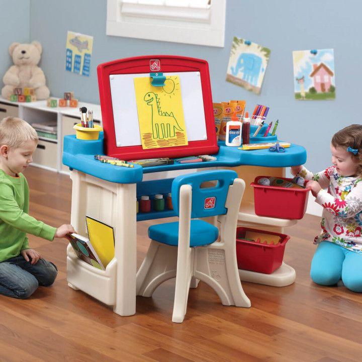 Step 2 Studio Art Desk With Chair Diy Corner Desk Ideas