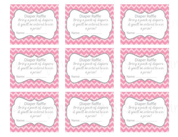 104 best aves baby shower images on Pinterest Birds, Jungle baby - printable raffle ticket template free