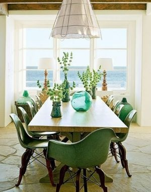 A Colourful Life: Green Scene   Green Inspiration With Photos. Dining  TablesDining AreaDining Room ...