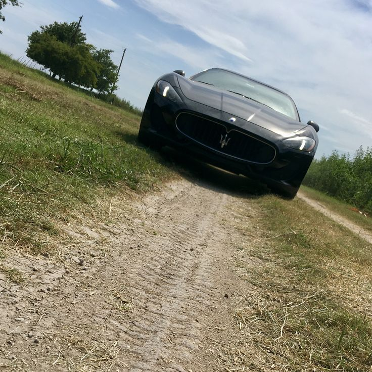 Not Your Average Road To Be Taking My Maserati Down!