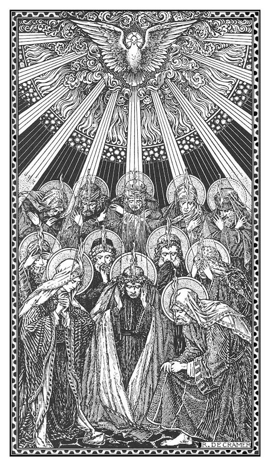 In the Octave of Pentecost. http://corjesusacratissimum.org/2013/05/in-the-octave-of-pentecost/