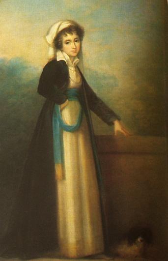 Princess Izabela Czartoryski family of Fleming 1746-1835 by Maria Cosway(*1760+1838)