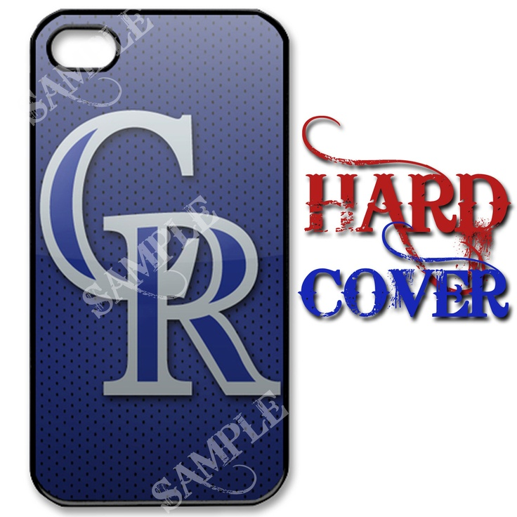 NEW COLORADO ROCKIES BASEBALL IPHONE 4 IPHONE 4S HARD CASE COVER BLACK COLOR $17 (FREE SHIPPING) I think I need this