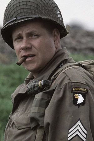 Sgt. Denver 'Bull' Randleman - Band of Brothers