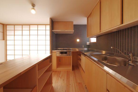 ホテリアアルトのタイル 暮らし 家 造作キッチン