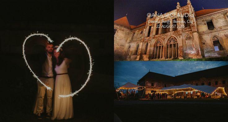 Nunta 'electrica', o nunta cu totul speciala, in curtea castelului Banffy din Bontida!
