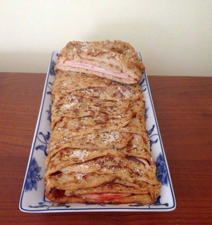 Karfiol pizza kicsit másképp (paleo) ~ Éhezésmentes Karcsúság Szafival